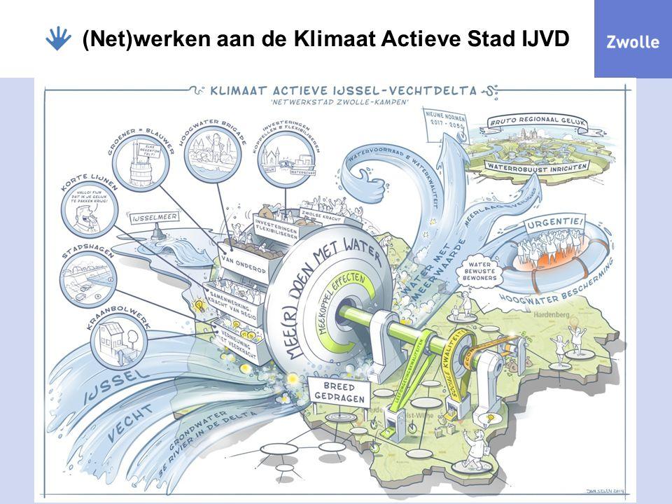 (Net)werken aan de Klimaat Actieve Stad IJVD