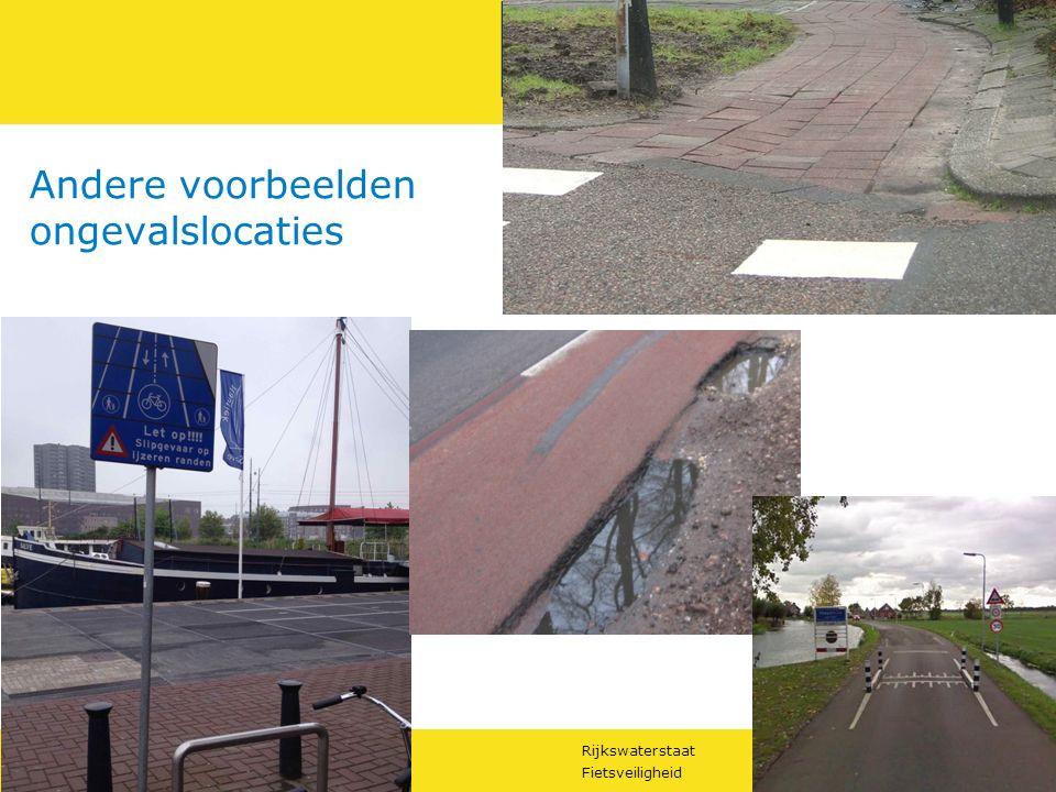 Rijkswaterstaat 20Fietsveiligheid RWS UNCLASS Andere voorbeelden ongevalslocaties