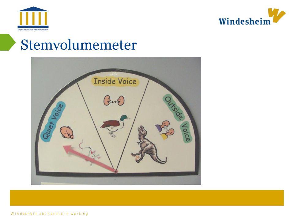 Windesheim zet kennis in werking Stemvolumemeter