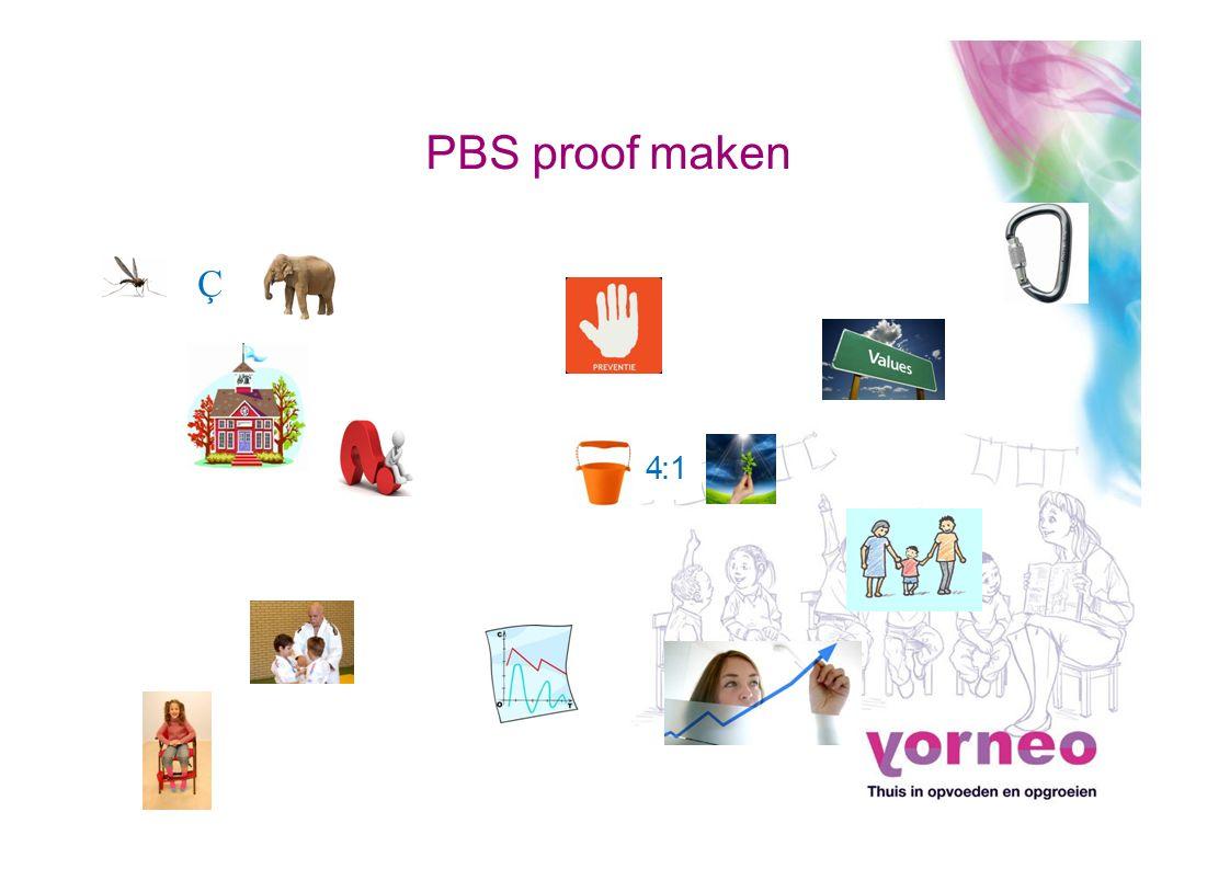 Ç PBS proof maken 4:14:1