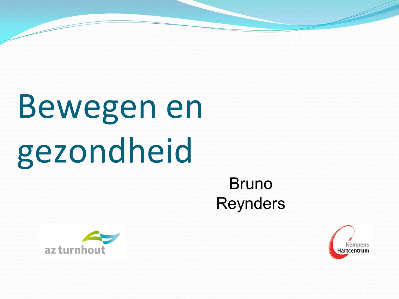 Bewegen en gezondheid Bruno Reynders