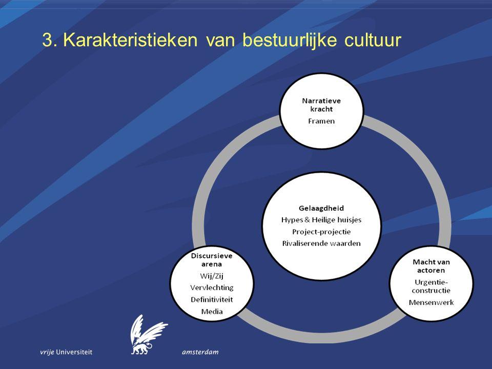 3. Karakteristieken van bestuurlijke cultuur