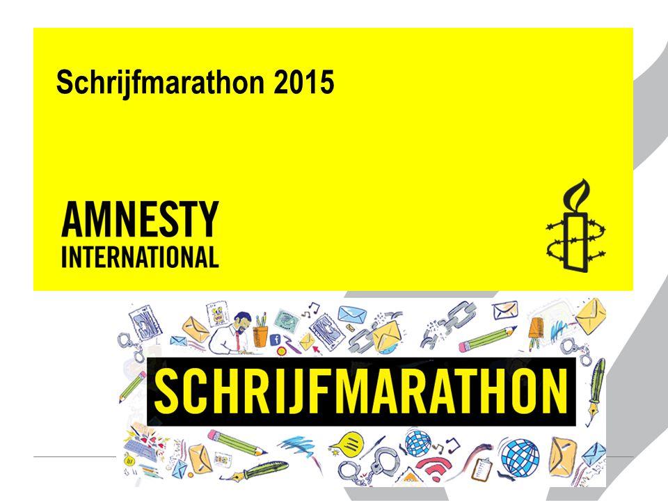 Schrijfmarathon 2015