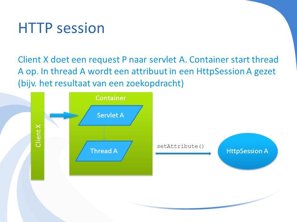HTTP session - vraag Hoe weet een container of cookies wel of niet werken en wanneer hij moet overschakelen op URL rewriting?