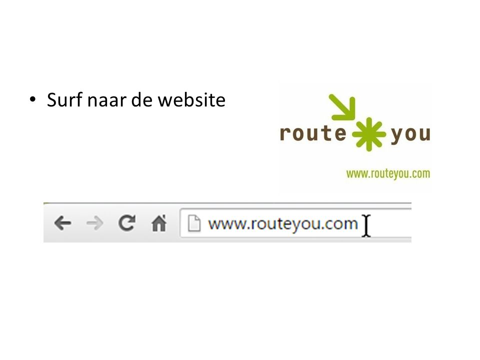 Surf naar de website