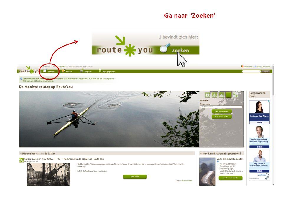 Klik op 'Zoeken'