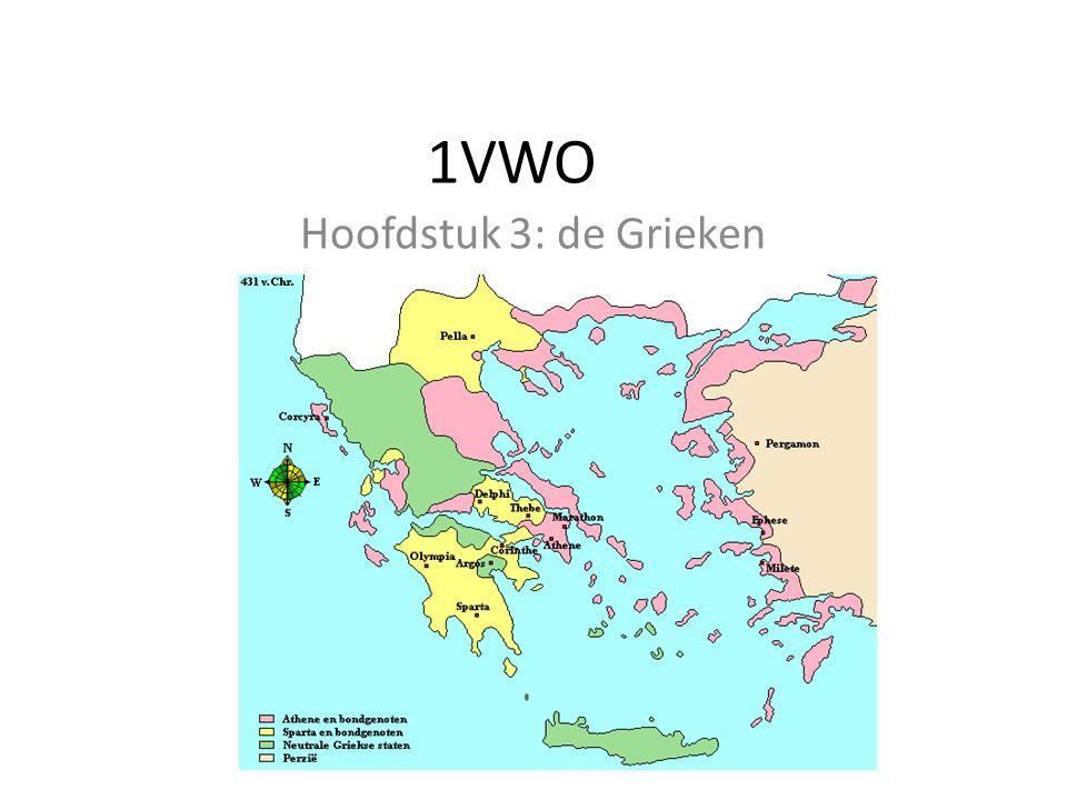 1VWO Hoofdstuk 3: de Grieken