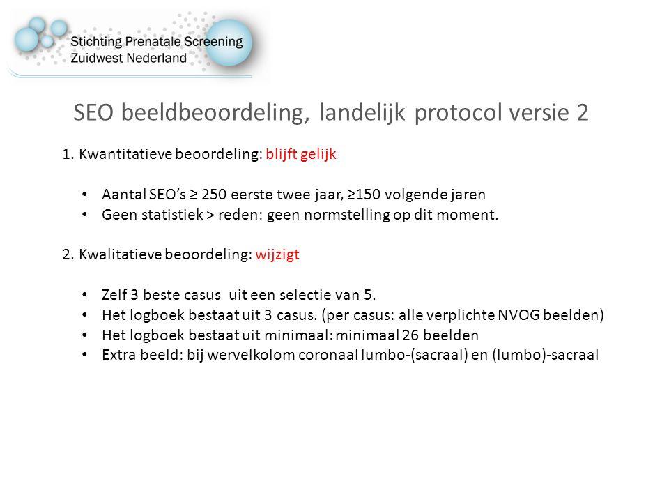 SEO beeldbeoordeling, landelijk protocol versie 2 1.