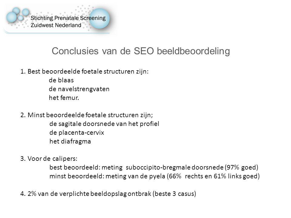 Conclusies van de SEO beeldbeoordeling 1.