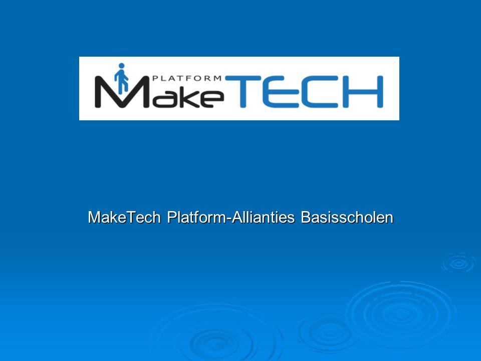 MakeTech Platform-Allianties Basisscholen