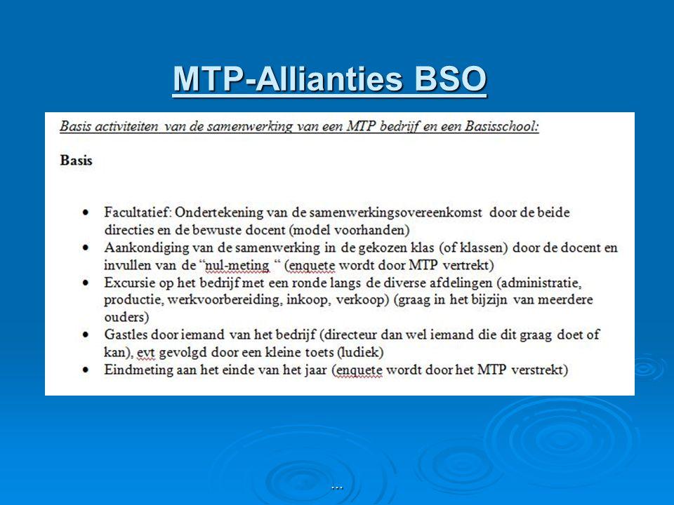 MTP-Allianties BSO …