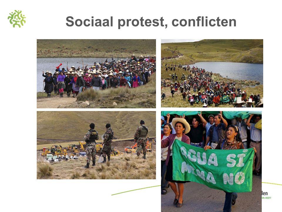 Sociaal protest, conflicten