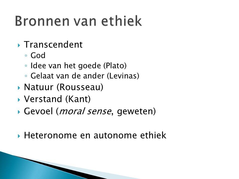  Christendom (Calvinisme)  Humanisme  Grieks-romeins  Germaans  Joods  Islamitisch