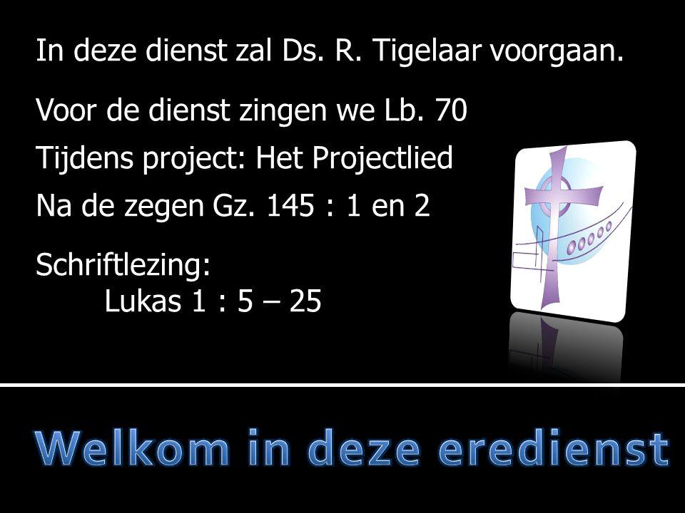  Adventsproject  Projectlied  Votum en zegengroet  Gz.