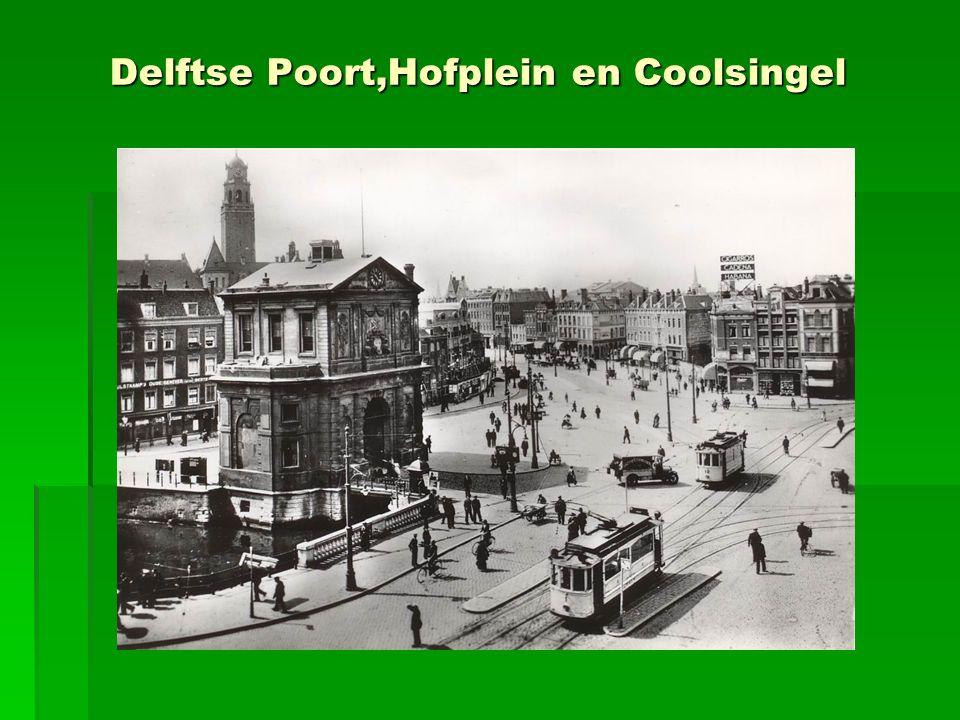 Hofplein 1929 ingekleurd