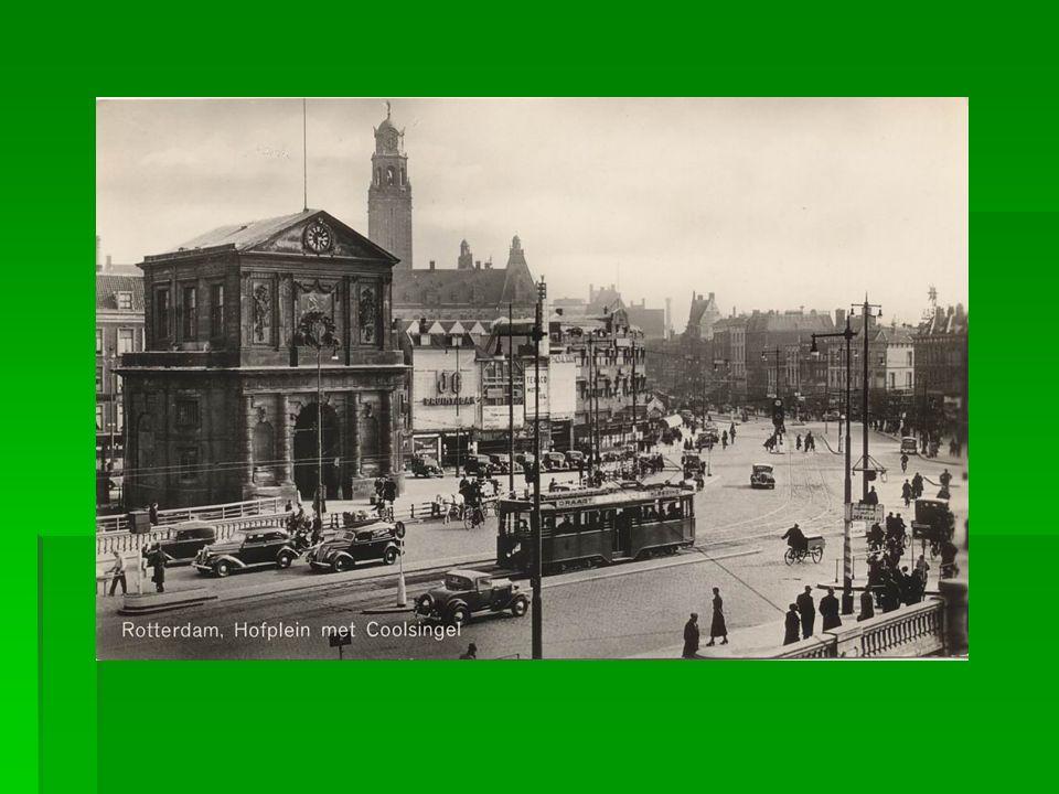 Kruispunt Blaak Coolsingel, begin jaren 60