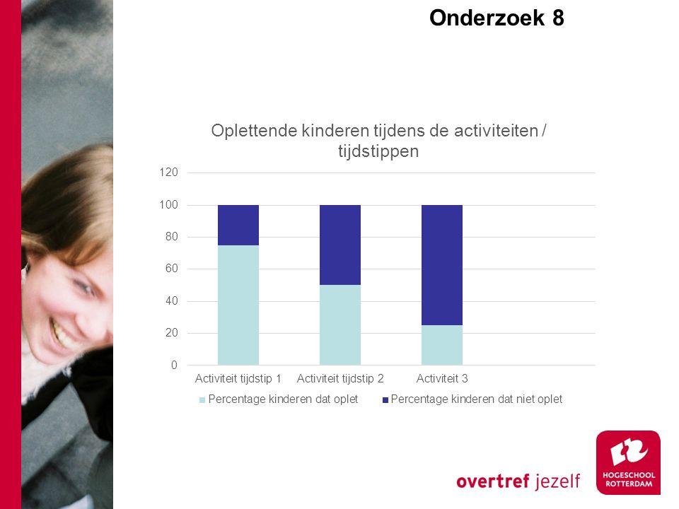 Onderzoek 8e Volgende keer: We maken de start met het beantwoorden van deze deelvragen: Hoe verloopt de taalontwikkeling van kinderen leeftijd x.