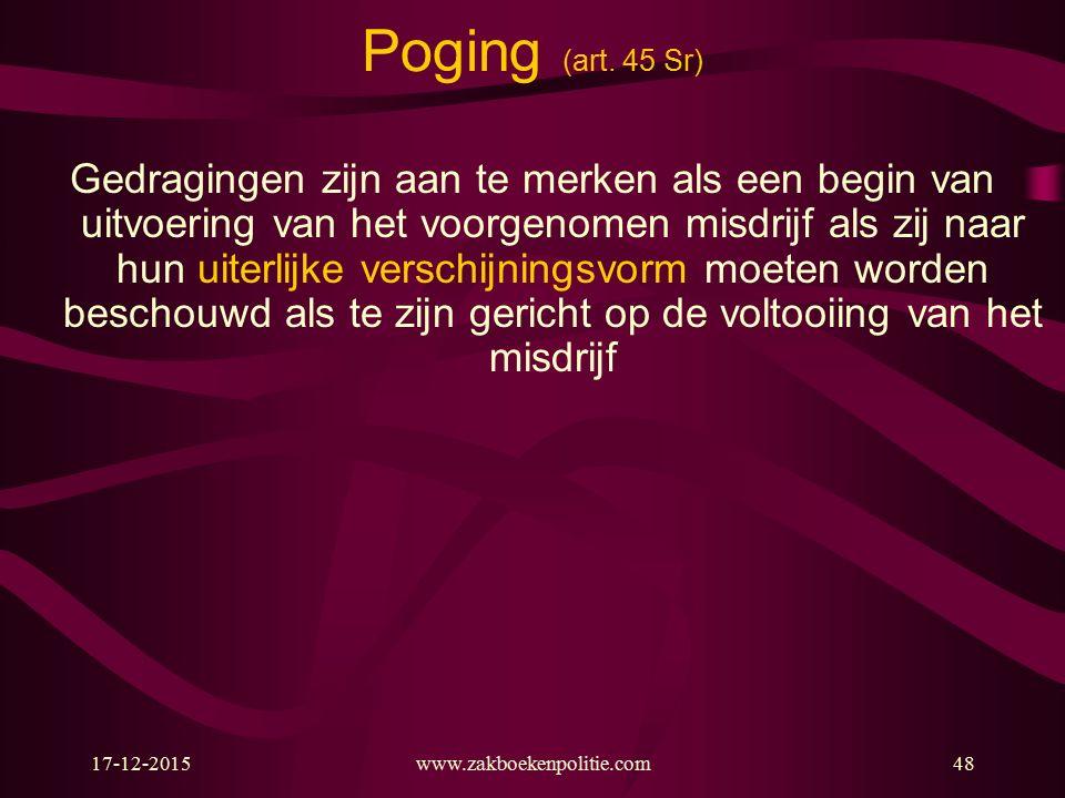17-12-2015www.zakboekenpolitie.com48 Poging (art.