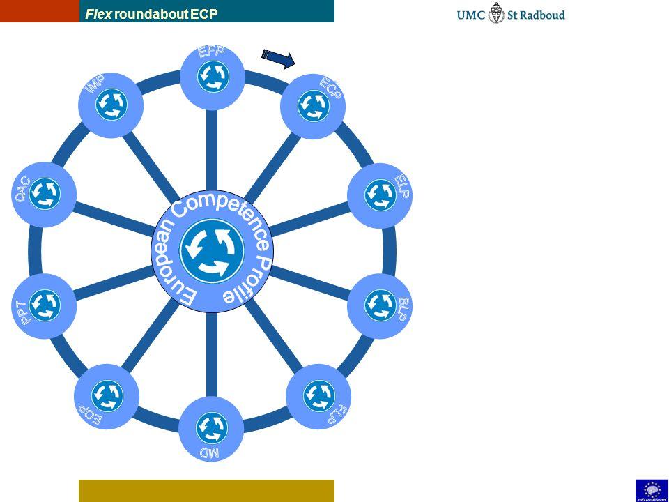 EFP European function profile ECP European competence profile ELP European Learning Plan MD Module Descriptions FLP Flexible Learning Paths BLP Blende