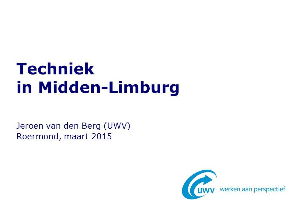 Aantal MBO-geslaagden Midden-Limburg 13 Totaal in 2012/'13: 2.695 (+22%)