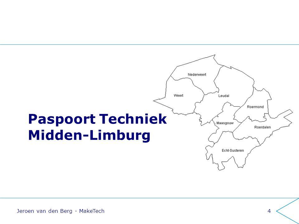 Structurele aansluiting onderwijs - arbeidsmarkt Jeroen van den Berg - MakeTech15