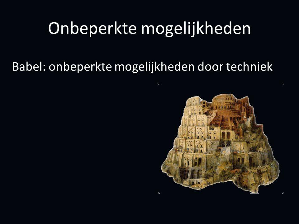 Babel: onbeperkte mogelijkheden door techniek