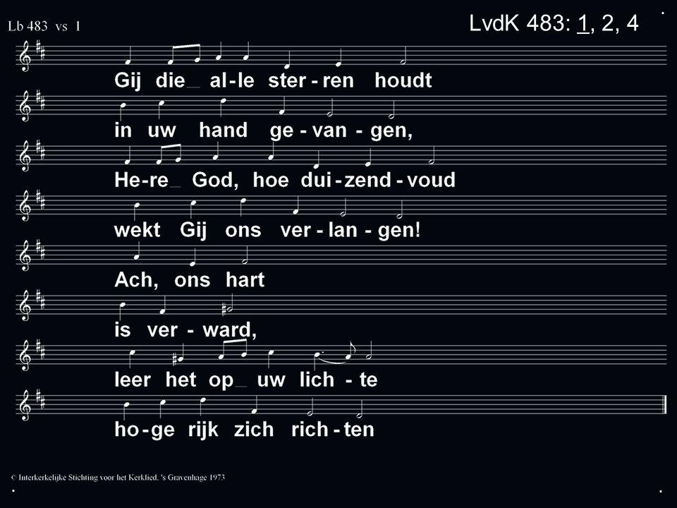 ... LvdK 483: 1, 2, 4