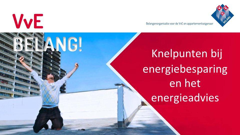 Knelpunten bij energiebesparing en het energieadvies