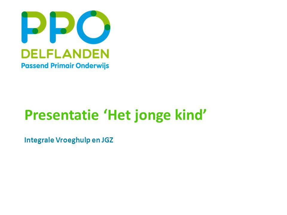 Presentatie 'Het jonge kind' Integrale Vroeghulp en JGZ