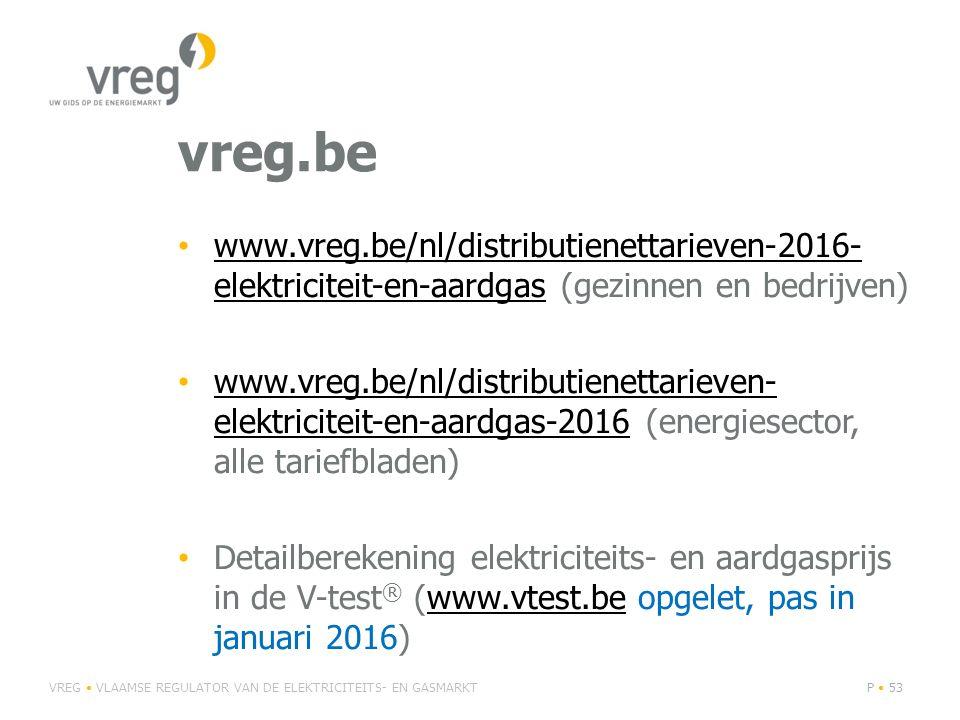 vreg.be www.vreg.be/nl/distributienettarieven-2016- elektriciteit-en-aardgas (gezinnen en bedrijven) www.vreg.be/nl/distributienettarieven-2016- elekt