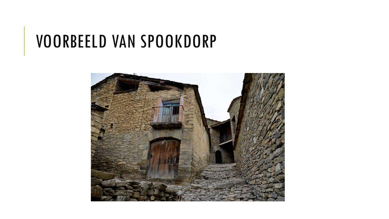 VOORBEELD VAN SPOOKDORP