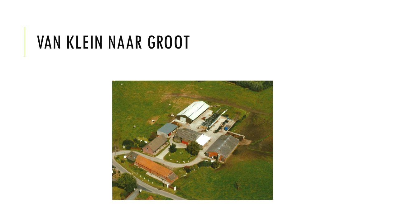 VAN KLEIN NAAR GROOT