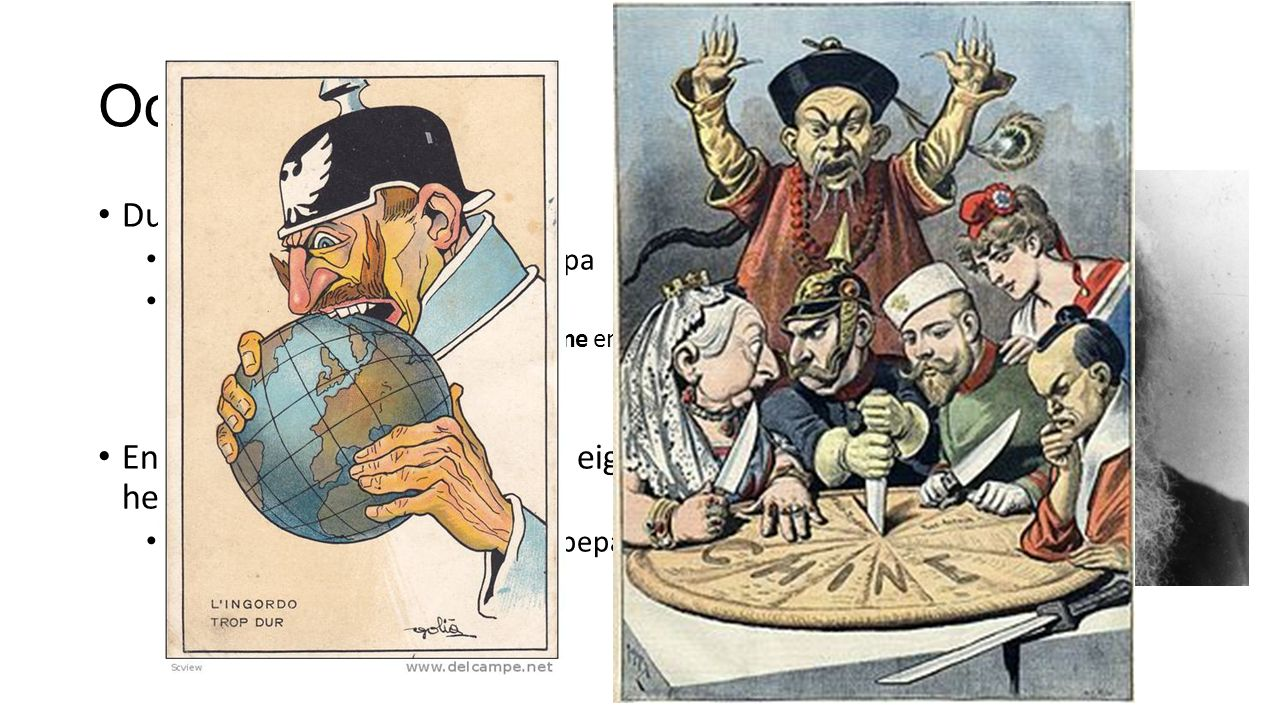Oorzaken WO I Duits Keizerrijk (1871-1918) Economisch centrum van Europa Weltpolitik  imperialisme Ontstaan door Duits nationalisme en het sociaal- Darwinisme Enige Europees land dat geen eigen koloniën heeft.