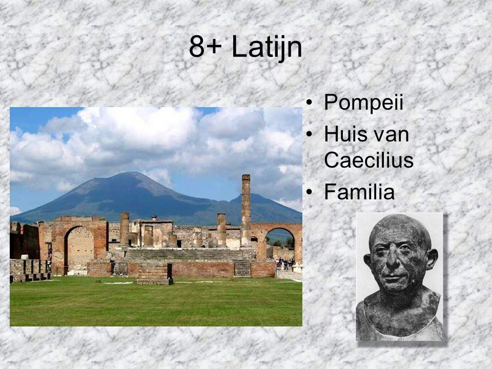 8+ Latijn Pompeii Huis van Caecilius Familia