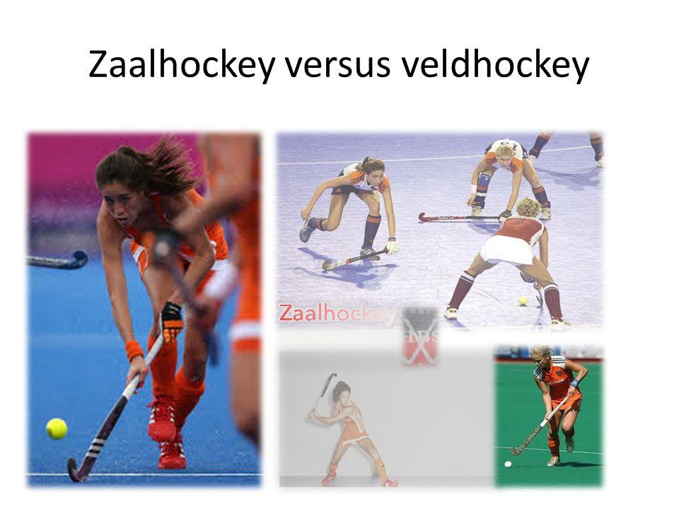 Verschillen tussen zaal en veld Veldhockey 11 vs.