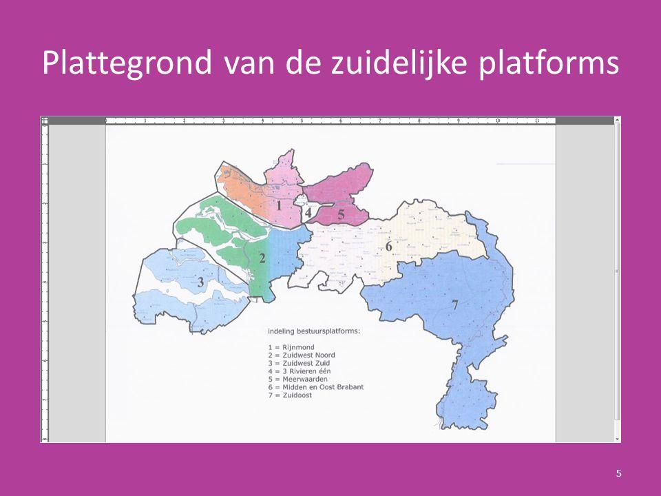 Taken van een Platform De regionale platforms hebben als doel zorg te dragen voor een bloeiend verenigingsleven en betrokken leden.