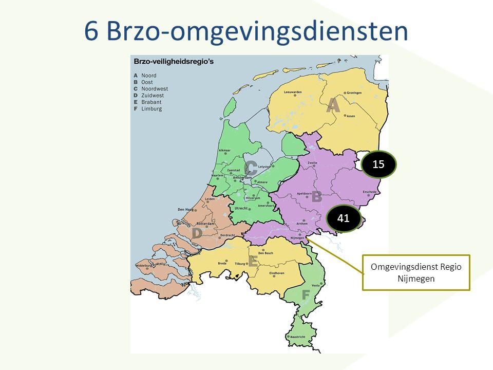 6 Brzo-omgevingsdiensten 15 41 Omgevingsdienst Regio Nijmegen