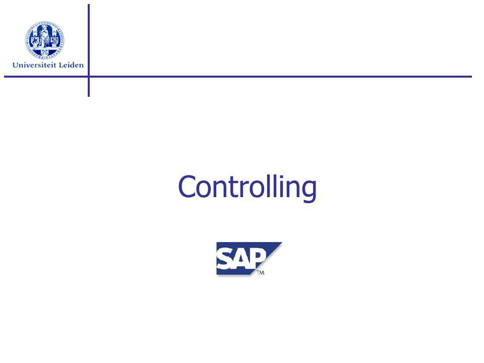 Inhoud Organisatiestructuur Planning / budgetten Rapportage(s) Aansluiting FI/CO (OHW / BFR) Vervolg traject