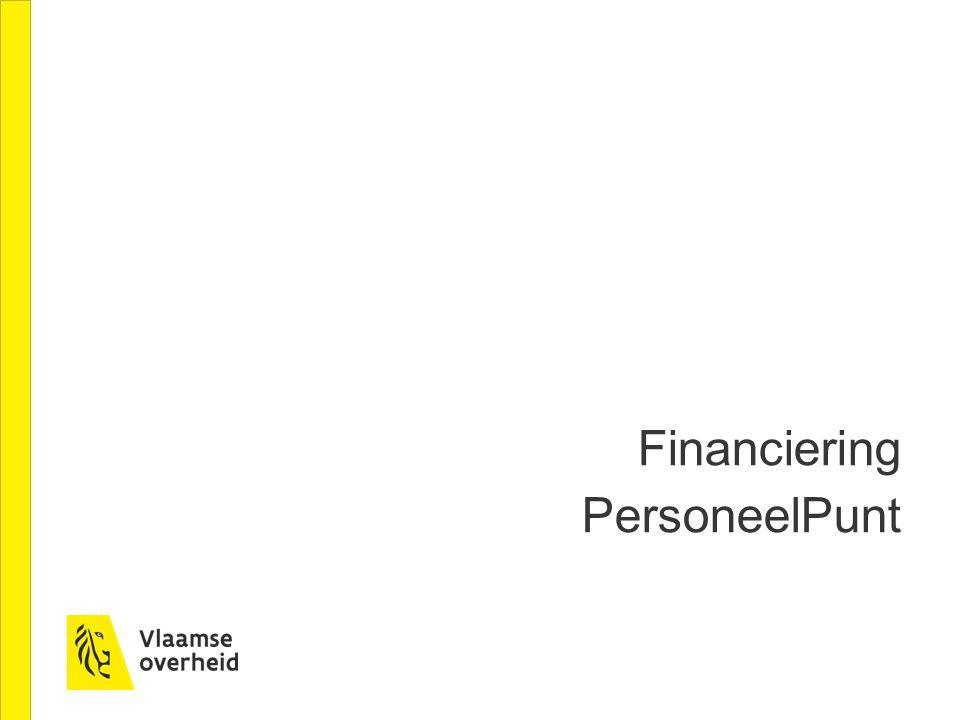 Financiering PersoneelPunt