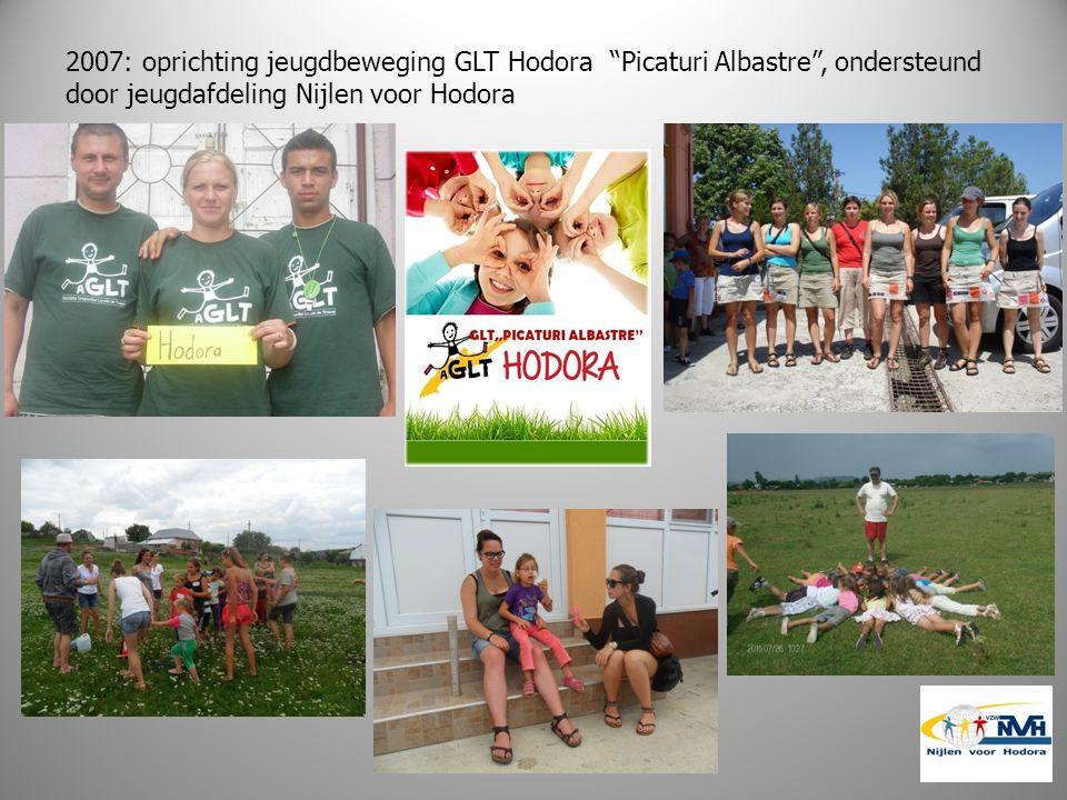 2007: oprichting jeugdbeweging GLT Hodora Picaturi Albastre , ondersteund door jeugdafdeling Nijlen voor Hodora