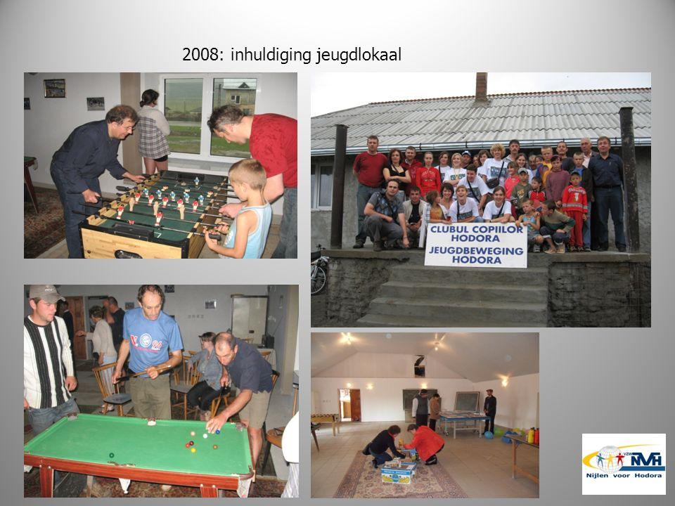 2008: inhuldiging jeugdlokaal