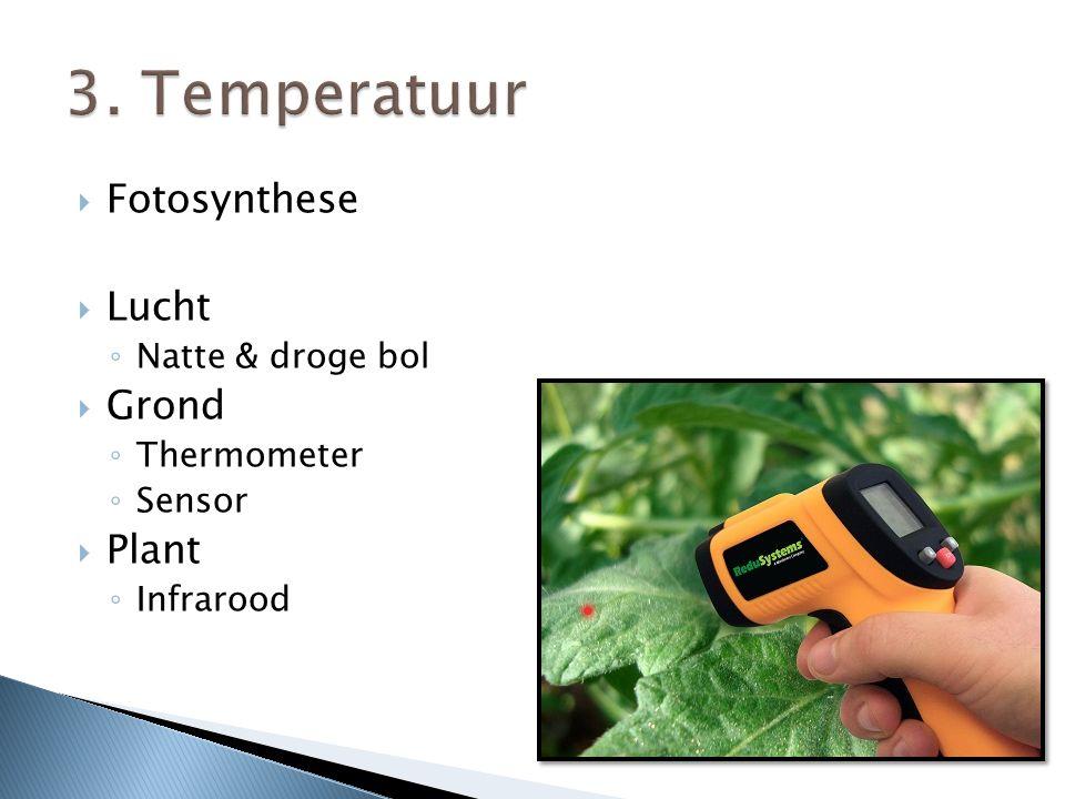  Tomaten kweken bij lagere temperatuur ◦ Minder droge stof (minder smaak), meer water.