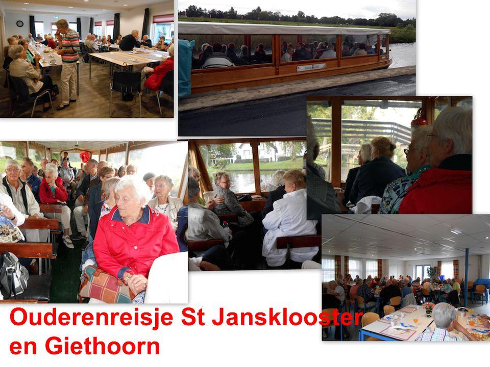 Ouderenreisje St Jansklooster en Giethoorn