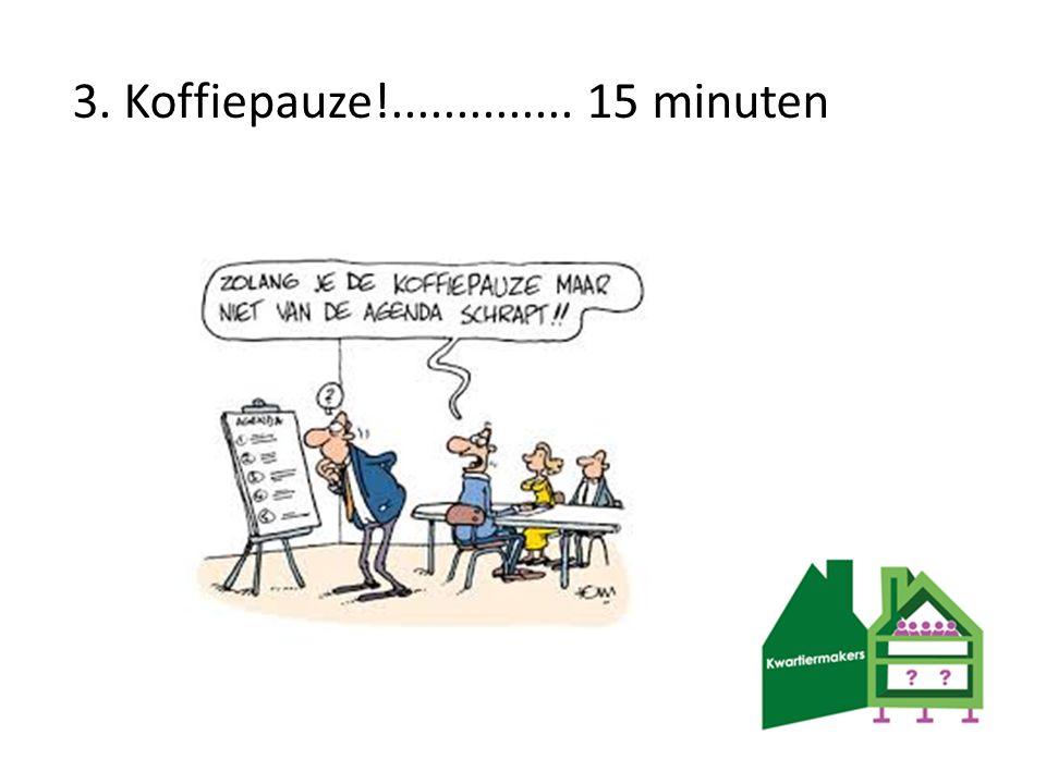 3. Koffiepauze!.............. 15 minuten