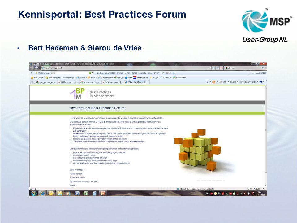 Making sense of change management Lex van der Helm User-Group NL