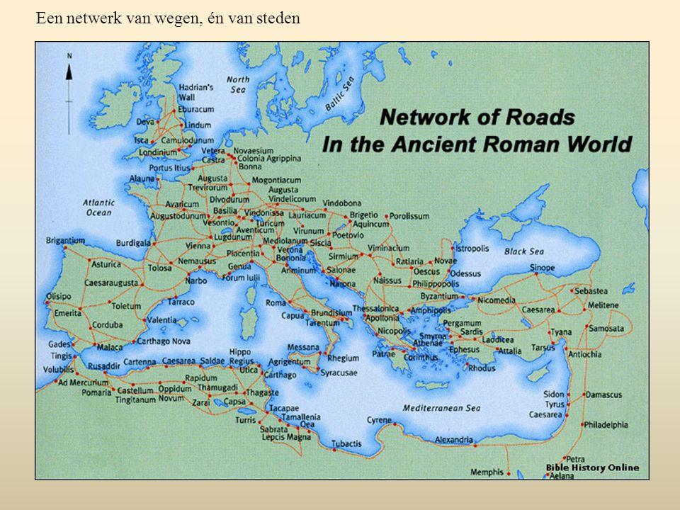 Een netwerk van wegen, én van steden