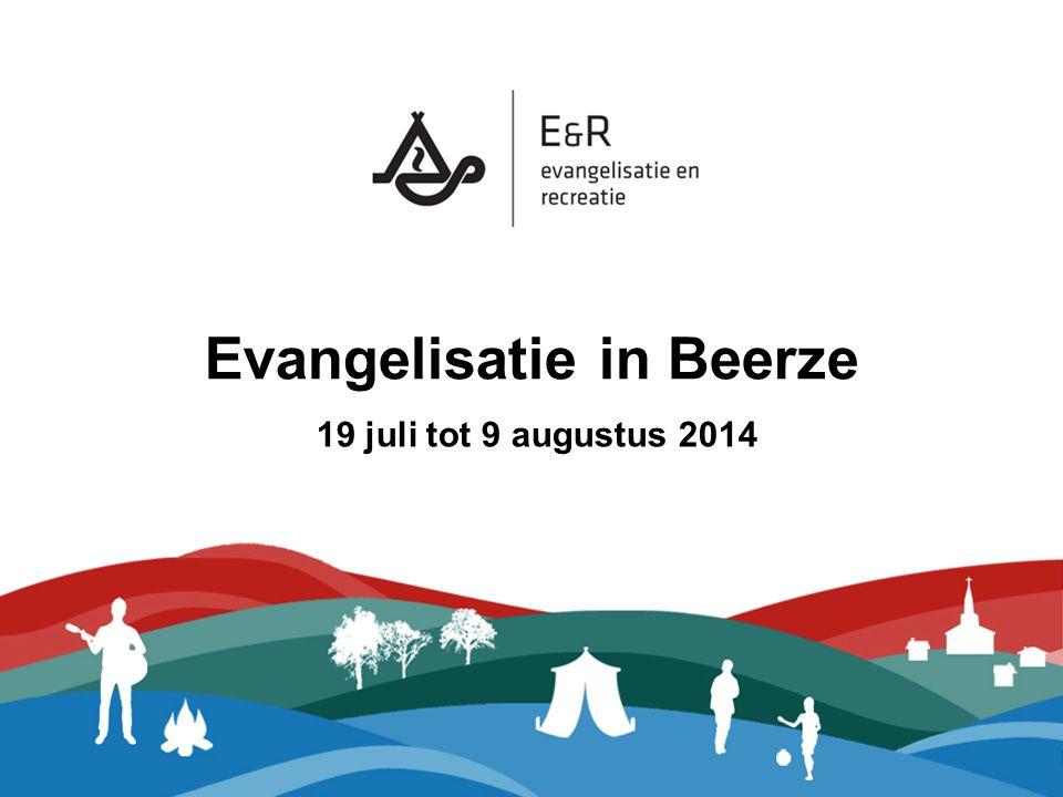 Project Beerze: Ons doel Contacten leggen met niet-christenen, jong en oud, om hen met daden en woorden de liefde en genade van God te laten zien.