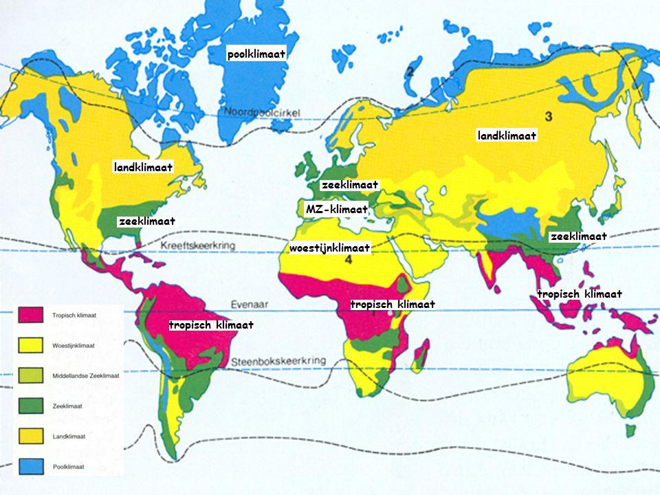 Deze klimaten hebben geen echte grenzen.