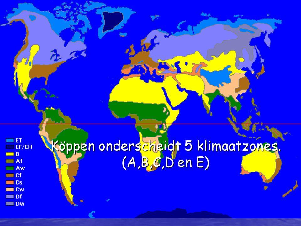 Kenmerken E-KLIMATEN: -grens met D klimaat is 10˚C (= boomgrens). -warmste maand < 10˚ C.