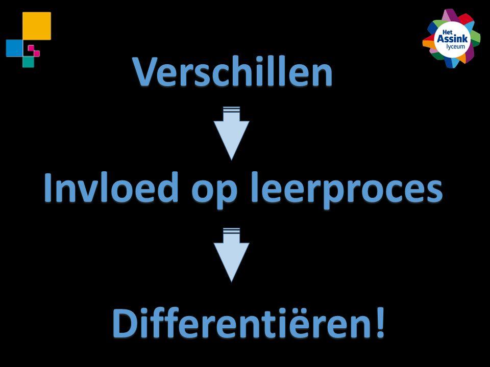 Verschillen Invloed op leerproces Differentiëren!